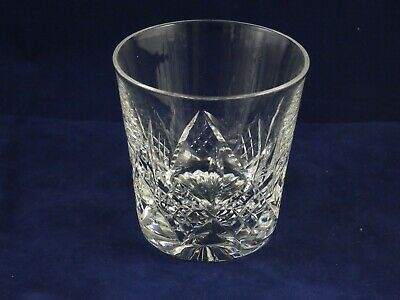 Beautiful Stuart Crystal Glengarry 7oz Old Fashioned Tumbler Whisky Glass