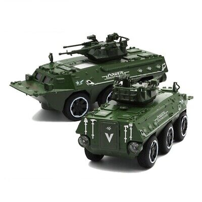 17cm Armored Wheeled Combat Tank 1:28 Diecast Metal Military Vehicle Model Toy