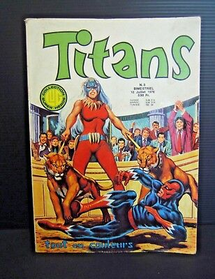 Titans N° 3 De 1976 Collection Lug  Bd