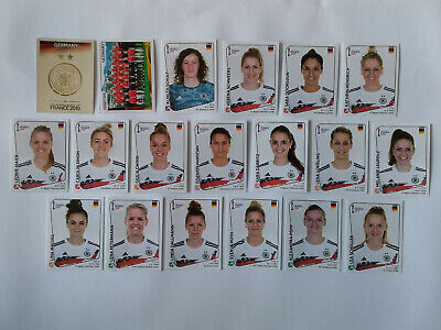 Panini Wc Coupe Monde Women France 2019 19 Image Equipe Complete Germany Team
