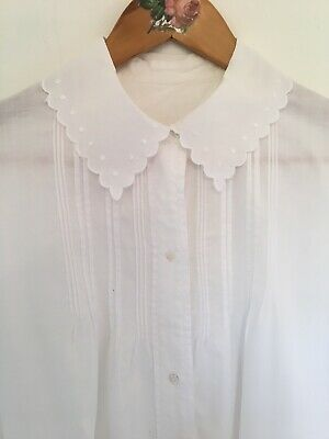 FRENCH VINTAGE  CHEMISE de NUIT 50»NIGHTGOWN - LONG NIGHTSHIRT