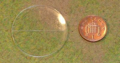 Sally 4th Terra-Base Clear Round Base w/Facing Line - 40mm (20) MINT