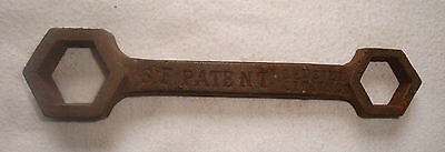 Vintage S F Patent Bedstead Fittings Spanner