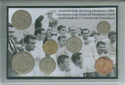 Real Madrid Vintage European Cup (Champions League) Winners Coin Gift Set 1960