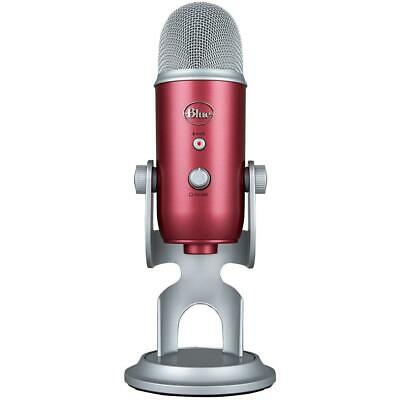 Blue Microphones Yeti-USB Professional Microphone - Steel Red