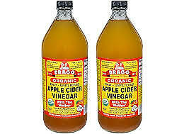 Bragg ORGANIC RAW APPLE CIDER VINEGAR USA AND UK Only All Size