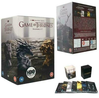 Game Of Thrones Complete Series Season (1-7) Dvd,34 Disc Set New