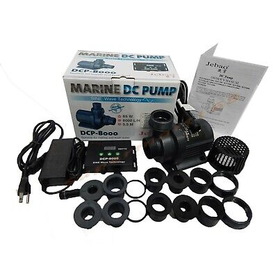 Jebao/Jecod DCP-8000 Submersible Return water Pump for Reef Tank upgrade DCT DCS