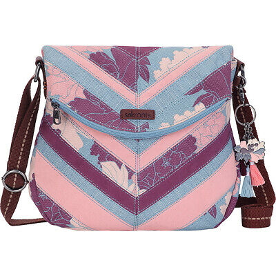Sakroots Artist Circle Foldover Crossbody 17 Colors Cross-Body Bag NEW
