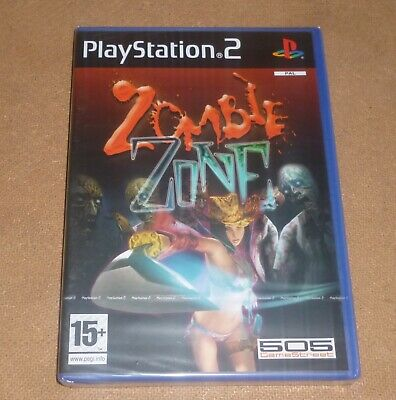 """Playstation 2 PS2 """"Zombie Zone"""" mint shop sealed 2005 NEW"""