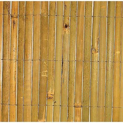 1.5 Metres High Split Bamboo Screening - Available in 10 different lengths