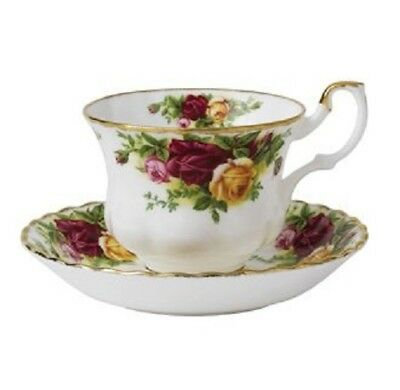Royal Albert Old Country Roses - Tea Cup & Saucer - Made in England