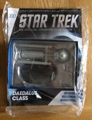 New & Sealed - Star Trek Eaglemoss Ships Collection - Daedalus Class - Issue 100