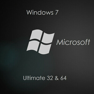 WINDOWS 7 ULTIMATE 32/64 BIT Product Key Activation Win 7 License Multilanguage