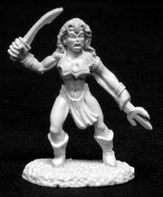 Reaper Dark Heaven Metal 28mm Venom - Female Vampire Pack MINT
