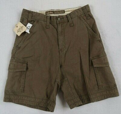 Clothing, Shoes & Accessories Cabela's Mens Olive Green Cargo Hiking Fishing Shorts New With Tags 34 9