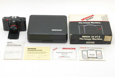 [Rare! EXC+++ in Box] Minox GT-E GTE 35mm Point & Shoot Film Camera From Japan