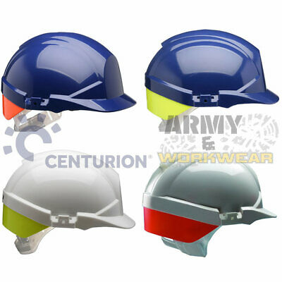 Centurion Reflex Work Safety Helmet Hard Hat Rear Flash Builders Contruction