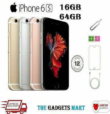 APPLE iPHONE 6S 16GB 64GB Grade A Unlocked AnyNetwork -Smart Mobile Phone