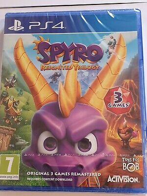 Spyro Reignited Trilogy (PlayStation 4) UK GAME NEW SEALED *FREE UK POST*