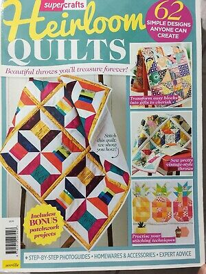 super craft heirloom quilts (bonus patchwork projects)