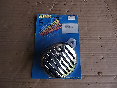 Vintage Motorcycle Bsa Horn 12V With Chrome Snap Cover 5