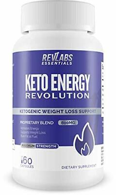 Keto Energy Revolution - Advanced Ketogenic Weight Loss Supplement | Perfect Ket
