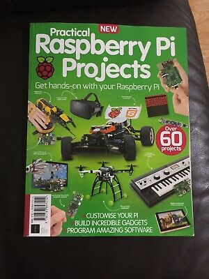 practical Raspberry pi projects (brandnew magazine)