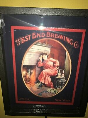 West End Brewery New York Beer Bar Tavern Man Cave Lighted Advertising Sign