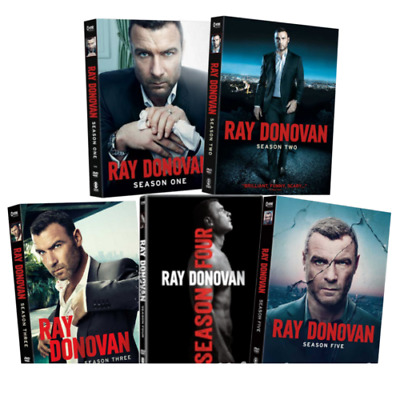 RAY DONOVAN Seasons 1-5 DVD SET
