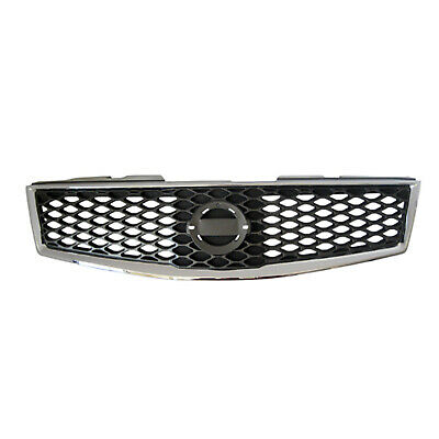CPP Gray Grill Assembly for 2007-2012 Nissan Sentra Grille