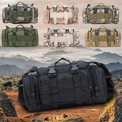 10L Military Tactical Camping Backpack Outdoor Hiking Trekking Shoulder Bag SH