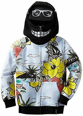Volcom Little Boys Toddler Vacation Full Zip Hoodie Top Multi Color 2T New