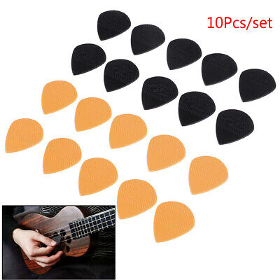 "10pcs 0.06"" Smooth Guitar Pick Holder Plectrum Acoustic Electric Bass Anti Slip`"