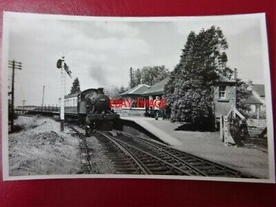 Photo  Darkroom - Gwr Loco 4410 At Dousland The Princetown Branch 7/55