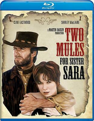 Two Mules For Sister Sara Blu Ray Region B (Aus) Clint Eastwood  New & Sealed