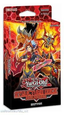 YuGiOh! Structure Deck: Soulburner :: Brand New And Sealed Box! ::