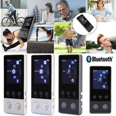 Portable Multifunction Lossless Sound Music Bluetooth MP3 Player Support 64GB Q