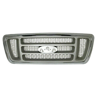 Gray Grill Assembly for 2004 Ford F-150, F-250, F-350, F-450 Grille