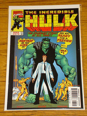 Incredible Hulk #474 Vol1 Marvel Comics Double Sized March 1999 Scarce