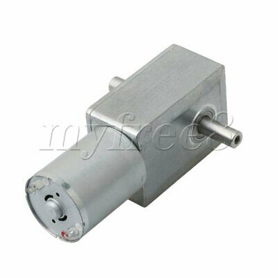 JGY370 6V 18rpm Metal Electrical Speed Reducer Gear Reduction Motor DC Motor