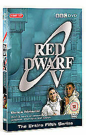 Red Dwarf Series 5 DVD 2-Disc Set NEW SEALED WITH 3 HOURS EXTRAS UK REGION 2 4