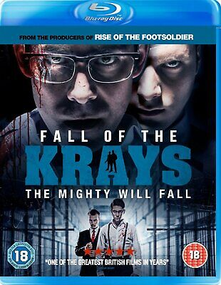 Fall Of The Krays (Blu-ray, 2016 w/ Slipcover) - Brand New & Sealed