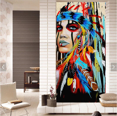 Abstract Modern Figure Hand-Painted Oil Painting Art Home Decor Wall On Canvas