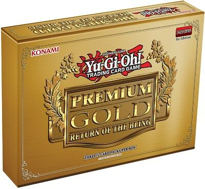Yu-gi-oh PGL2 Premium Gold: Return of the Bling 2015 Sealed Box English/EU New