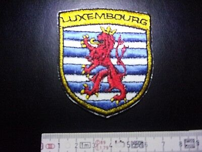LUXEMBOURG WAPPEN Aufnäher LUXEMBOURG Patch Correctifs Záplaty Патчи 6 x 7 cm