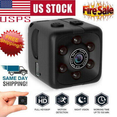 Mini Spy IP Camera Wireless WiFi HD 1080P Hidden Home Security Night Vision US .
