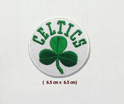 Boston  Celtics  Logo NBA Embroidery Patch Iron and sewing on Clothes