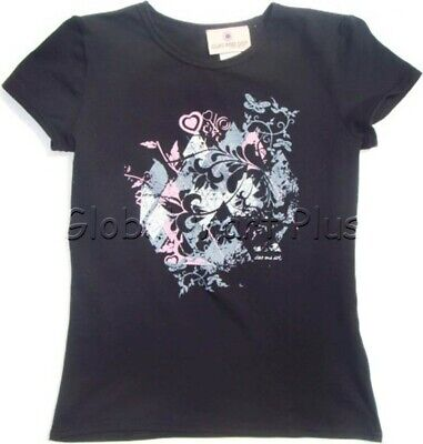 T-Shirt Top Tee Graphic Print Short Sleeve Crew Neck Pink Youth Girls Cleo Dot