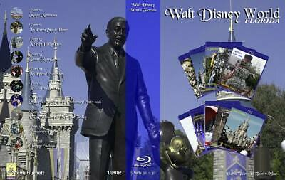 Walt Disney World Florida - Parts Thirty to Thirty Nine Collection on Blu-Ray